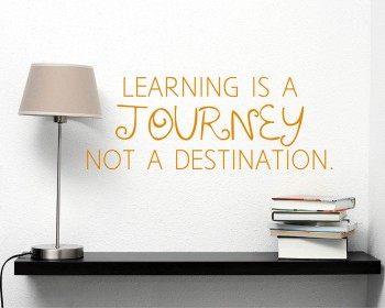 Learning is Quotes Wall Decal Motivational Vinyl Art Stickers